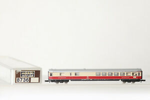 Märklin Z Gauge Mini Club 8736 Tee Buffet Car DB 61 80 88-94 331-0 Boxed 133094