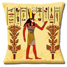 egipcio dios Horus Funda de cojín 40.6x40.6cm 40cm Halcón Cabeza Man antigua