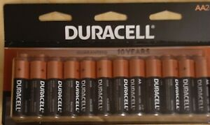 Duracell AA  Batteries Pack Of 24. Expiration Date 2030.
