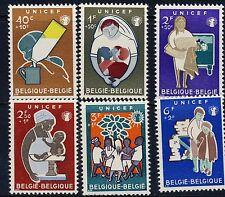 Belgium Children Scott B672 - B677