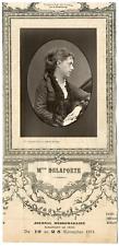 Lemercier, Paris, actrice, Théâtre Michel, Marie Delaporte (1838-1910) Vintage P