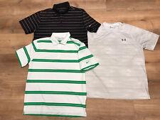 Lot 3 Shirts Mens Large Nike Golf Tour Performance Dri Fit Polo Under Armour T