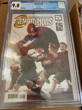 Champions (Volume 2) #6 CGC 9.8 Marvels 25th anniversary Spiderman variant