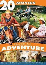 NEW! Tales of Adventure: 20 Movies DVD 2013 4-Disc Set White Lion *Running Wild