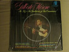 GILBERTO MORENO SU VOZ GUITARRA Y SUS CANCIONES LP ORC RARE SIGNED VG+ IN SHRINK
