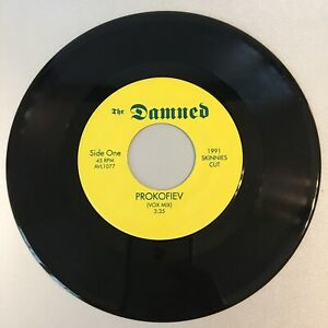 """THE DAMNED - Prokofiev - 7"""" Record 45 rpm - NM"""