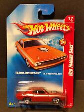 2008 Hot Wheels #093 Web Trading Cars 17/24-70 Dodge Challeneger Hemi - M6995 1L