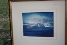 Two, 1952 Framed, Color Photographs, Jackson Hole, Wyoming, Mount Moran