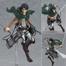 ATTACK ON TITAN - Levi Rivaille Figure 15cm Ataque a los Titanes