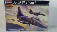 2002 Monogram A-4F Skyhawk U.S Navy Blue Angels Attack Jet 1:48 Kit # 85-5976
