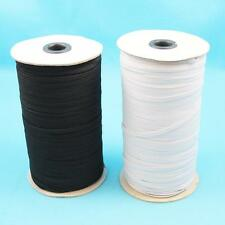 5 ,10 or 20 METRES ELASTIC 3mm,5mm,6mm FLAT ELASTIC CORD STRETCH  MASK SEWING