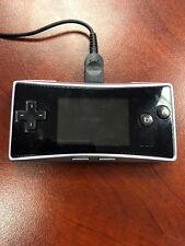 Nintendo Game Boy micro Launch Edition Black Handheld System