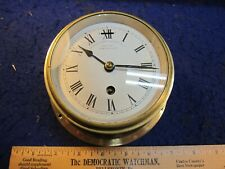 uncommon Manhattan Marine & Electric Co 8 day ships clock running made England