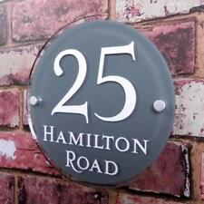 Unbranded Acrylic Round Decorative Plaques & Signs