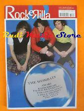 rivista ROCKERILLA DIC/2007 Wombats Paolo Benvegnu' Lucky Soul Amari Ran * No cd