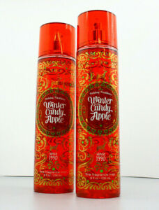 Winter Candy Apple - Mist 8oz - 2 Pack - Bath & Body Works - Fast Shipping in US