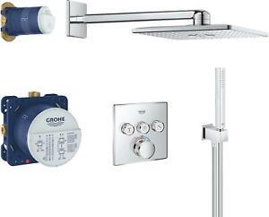 Grohe SmartControl Duschsystem Unterputz mit Rainshower 310 SmartActive Cube