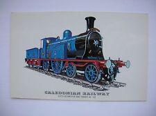 Steam Train -- Caledonian Railway - Locomotive & Tender 123.