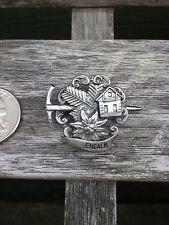 Vintage Oktoberfest Hiking German Bavarian Hat Pin ENGALM