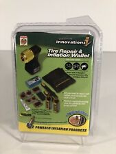 Genuine Innovations Tire Repair & Inflation Wallet CO2 Tire Inflation in Seconds