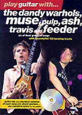 How To Play Guitar Muse Ash Travis Feeder Pulp Dandy Warhols Tab Book & CD