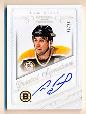 2013-14 National Treasures Cam Neely Greatest Signatures On Card Auto (20/25)