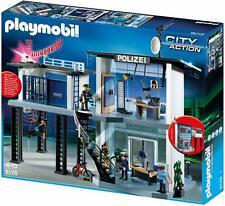 PLAYMOBIL Polizei-Kommandostation mit Alarmanlage (5176-A)