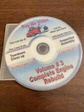 New ListingVw Repair Bug Me Video Type 1 Complete Engine Rebuild Volume #3. Great Dvd!