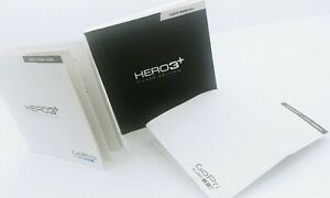 GoPro Hero3+ User Manual & Quick Start Guide w/ Warranty & Disclaimers Book