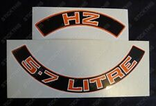 Suits Holden Monaro Sandman GTS Statesman HZ - Air Cleaner Decal Stroker 5.7