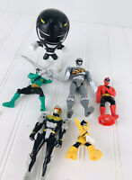 Vintage Mighty Morphin Power Rangers Character  Lot Action figures