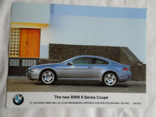 BMW 6 Series Coupe press photo Jul 2003