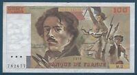 100 FRANCS DELACROIX (1978) M.2 - Billet de banque français (TTB)