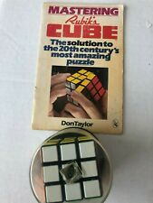 Genuine Rubik's Cube Deluxe Edition SEALED Twisty Puzzle
