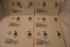 B-5-8 Aland FDC Zwischensteg Ersttagsbriefe MiNr. 20-22 1x Leerfeld + 1x Nummer