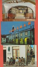 SET OF 3 POSTCARDS SANDEMAN PORT WINE & TAVERN WITH ADVERTISING PORTUGAL