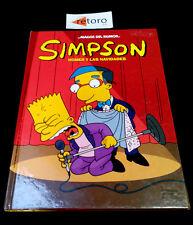 MAGOS DEL HUMOR 28 SIMPSON Homer y las Navidades Tapa Dura Ediciones B