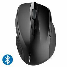 Optical Ergonomic Wireless Mouse Computer Bluetooth Mice 2600DPI 2.4G