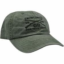 Sombrero estilo de gruñido-Verde Od Vintage