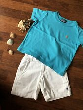 Orig Ralph Lauren Kinder Baby T Shirt Bluse Polo Kragen Hemd Gr. 2 Jahre 92 cm