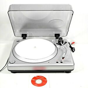 ION iTTUSB Turntable Record Player. Vinyl To MP3 Converter. Software Included.