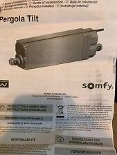 New Somfy Pergola Tilt 0 Degrees 1230032