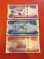 ETHIOPIA 4 BANKNOTES , 50-100-200 Birr, 2020, P-New, UNC New Denomination