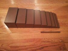 Montessori Sensorial Material - Wooden Brown Broad Stairs