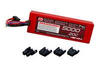 Venom 1555 2S 20C 7.4V 5000mAh Hardcase LiPo Battery w/ EC3Tamiya Traxxas Deans