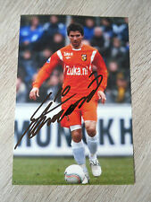 STEVANOVIC *1 VITESSE, REAL SOCIEDAD & SLOVENIA WORLD CUP -PHOTO ORIGINAL SIGNED