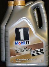 2x5 Liter Mobil 1 FS ( NEW LIFE ) 0W40 Motoröl 0W-40 MERCEDES VW BMW PORSCHE