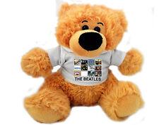 Personalised 12 inch BEATLES FAN TEDDY BEAR Great gift