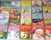 Lot of Little Golden Books Mixed Lot 25 Books Disney Christian Classics RANDOM