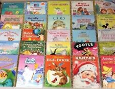 Lot of Little Golden Books Mixed Lot 25 Books Disney Christian Classics RANDOM
